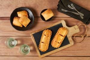 Delicias Coruña empanadillas masa rústica Portada