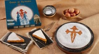 Delicias Coruña tarta de almendra obradoiro 700 g