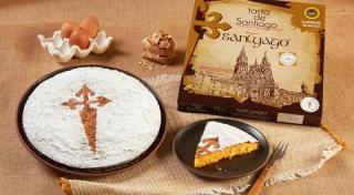 Delicias Coruña tarta de Santiago ixp 700 g
